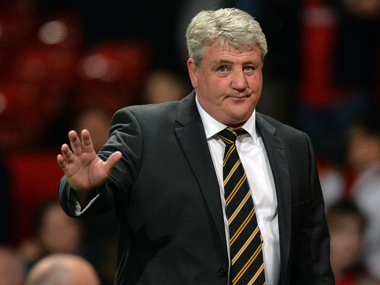 Steve Bruce: Wants his Hull players to make names for themselves