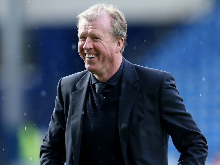 Derby manager Steve McClaren: Aims for play-off glory