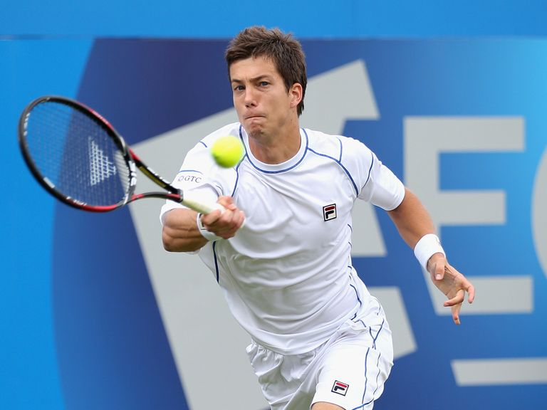 Aljaz Bedene: Hoping to play for Great Britain
