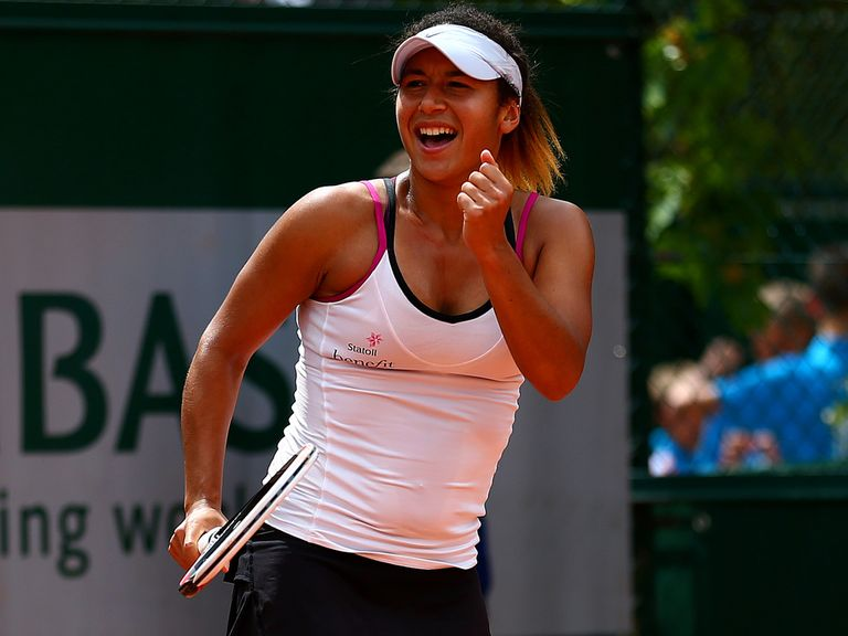 Heather Watson: Has qualified for the first round