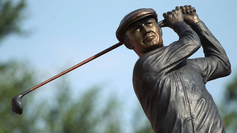 Ben Hogan won the US Open four times between 1948 and 1953