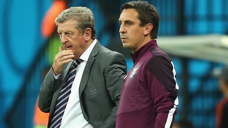 Gary Neville: admits pain of World Cup exit still hurts Roy Hodgson's squad