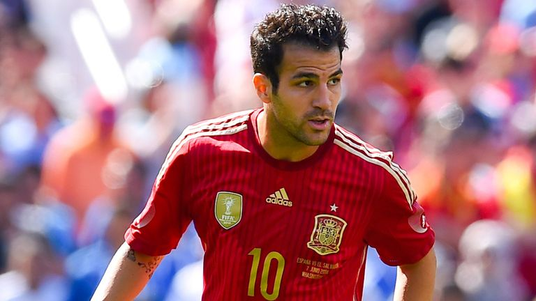 Cesc Fabregas: Spain international has joined Chelsea