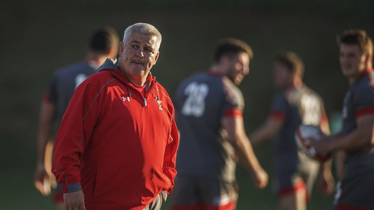 Warren Gatland: defender made an error