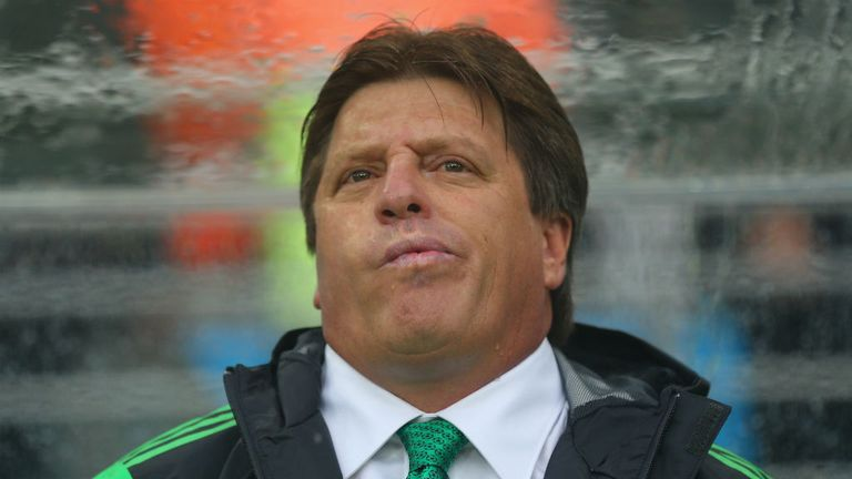 Miguel Herrera: Saw Mexico make a winning start to their Group A campaign