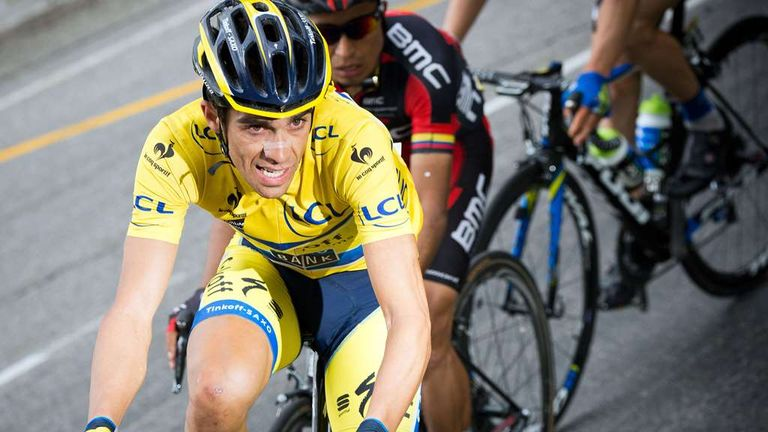 Alberto Contador is in form following the 2014 Criterium du Dauphine