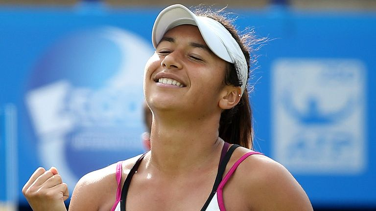 Heather Watson: Into semis at Eastbourne