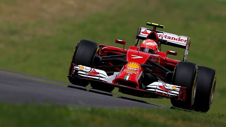 Kimi Raikkonen: Wanted more power