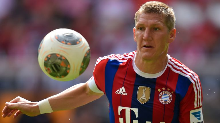 Bastian Schweinsteiger: Been with Bayern Munich since the age of 13