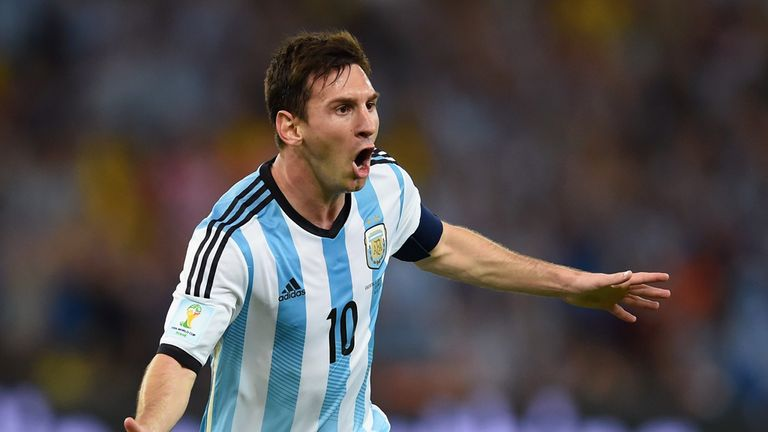 Messi: Scored a brilliant match-winning goal against Bosina on Sunday night