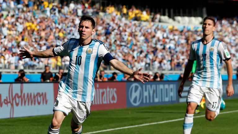 Lionel Messi: Scored late winner in 1-0 victory over Iran