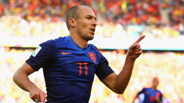 Arjen Robben: Opened the scoring for Netherlands