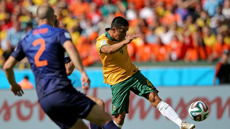 Tim Cahill: Proud of his achievements