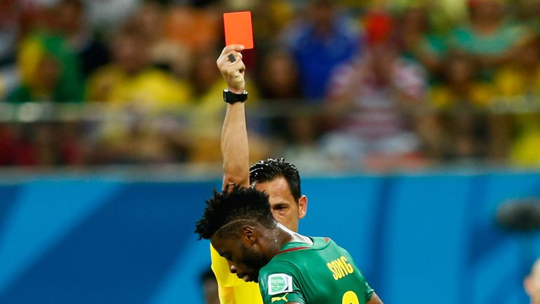 Alex Song: Three-match ban for Cameroon midfielder