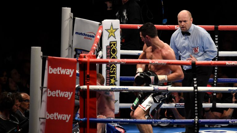 Carl Froch finishes his feud with George Groves at Wembley