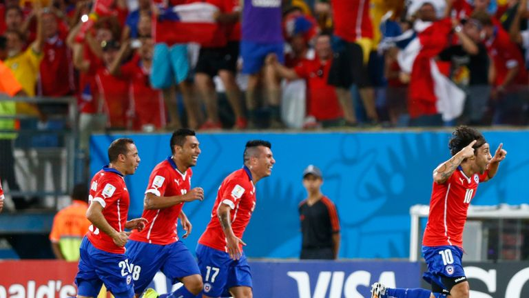 Jorge Valdivia: Doubled Chile's advantage
