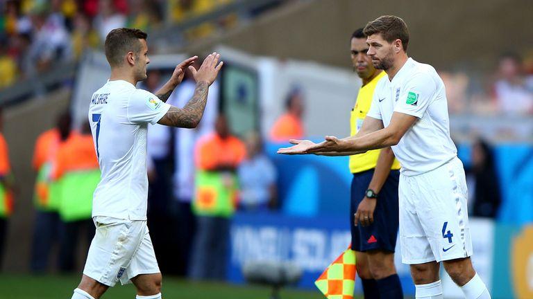 Steven Gerrard: Replaces Jack Wilshere