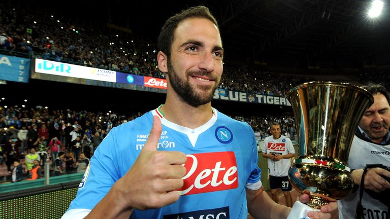 Gonzalo Higuain: Says he has heard nothing from Barcelona