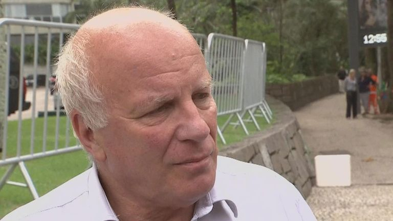 FA chairman Greg Dyke speaking to Sky Sports News