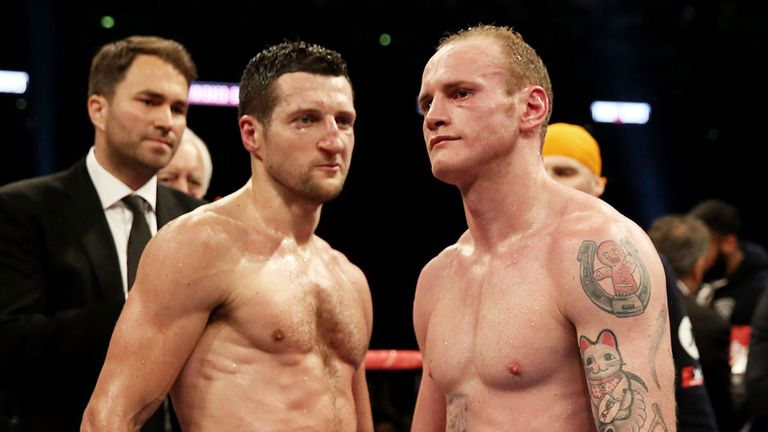 George Groves (r): Convinced he was in control on Saturday before knockout punch