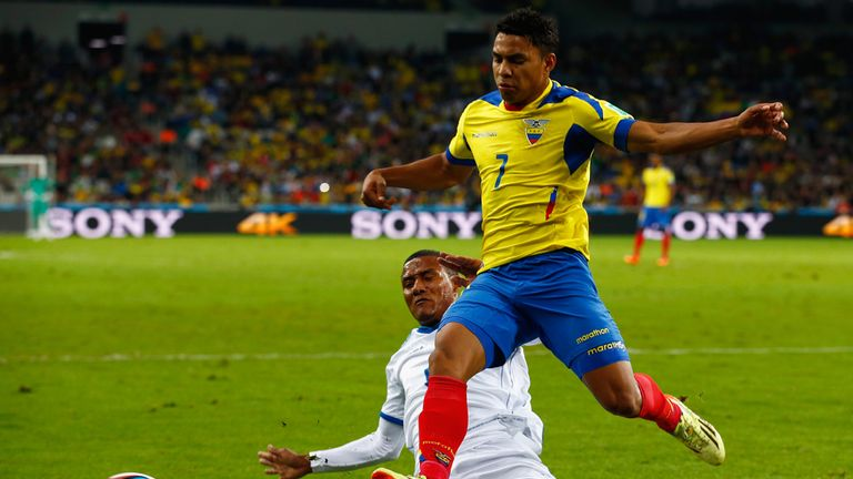 Jefferson Montero: Ecuador winger has completed his move to Swansea