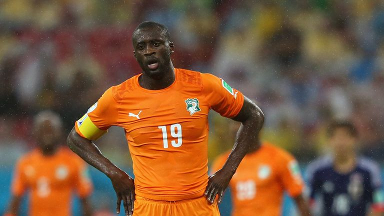 Yaya Toure: Playing for Ivory Coast at World Cup