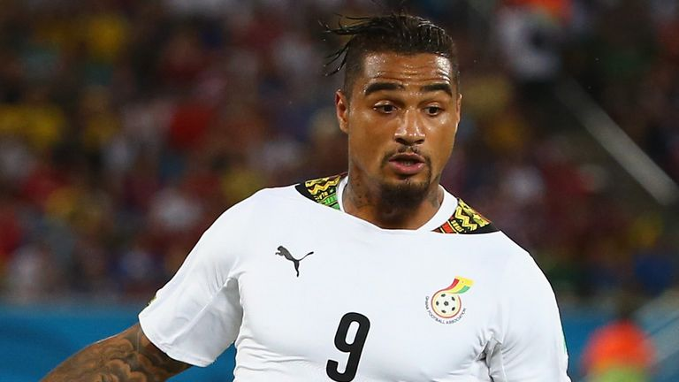 Kevin-Prince Boateng: Hit out at the Ghana Football Association