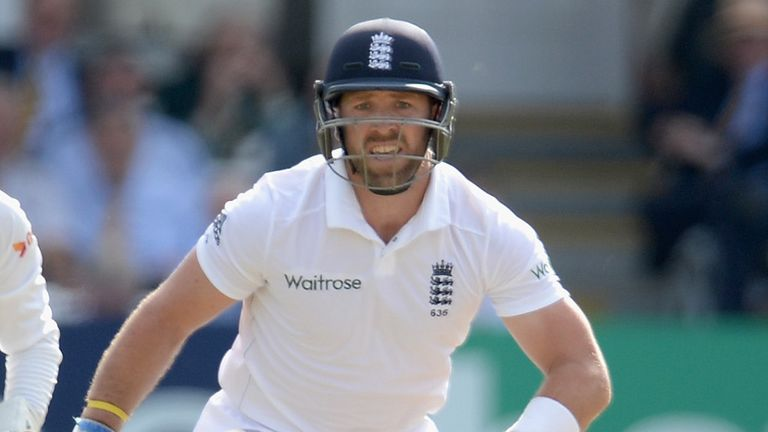 Matt Prior: Made 86 before the wicketkeeper thought he had taken a second wicket