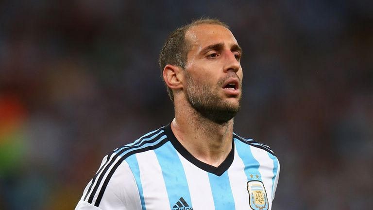 Pablo Zabaleta: Seeking World Cup glory on rival soil