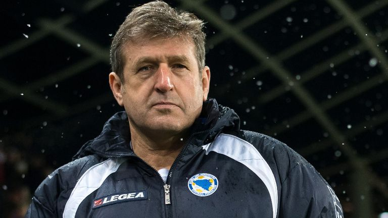 Safet Susic: Bosnia coach unhappy with officials