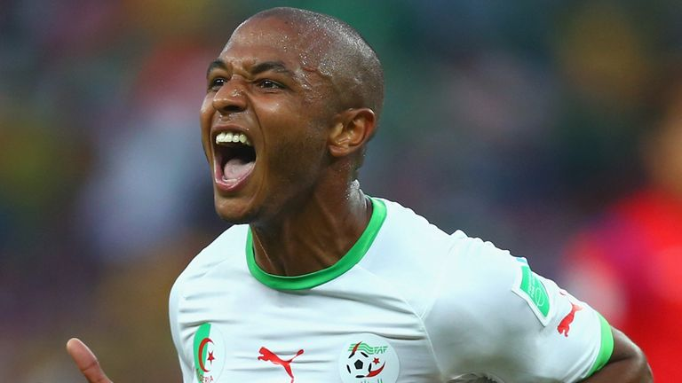 Lacine Brahimi: Catching the eye at the World Cup with Algeria