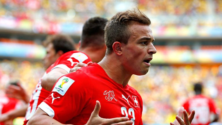 Xherdan Shaqiri: Played a starring role in Switzerland win