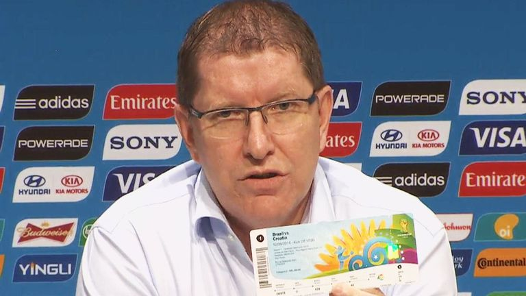 Thierry Weil: Refusing to name original provider of tickets after touts arrested in Rio