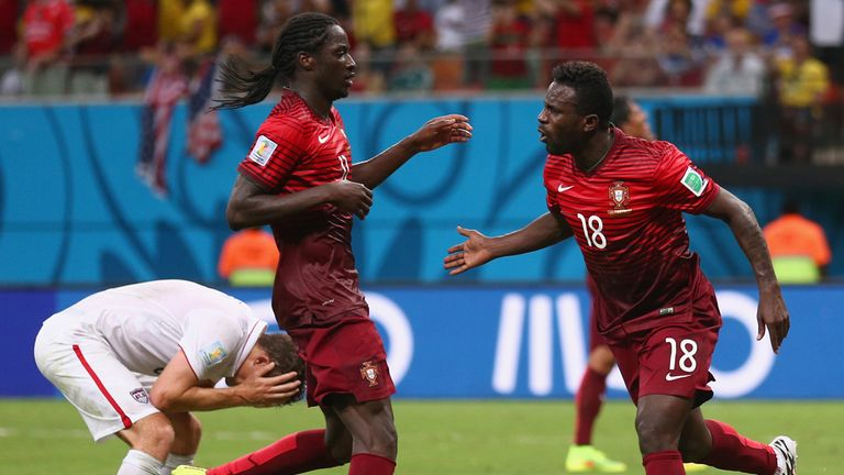 Silvestre Varela: Celebrates his late equaliser