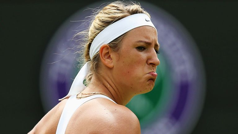 Victoria Azarenka: Pulled out of Cincinnati event due to knee injury