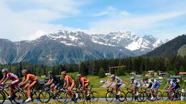 The Tour de Suisse is one of the most scenic races in cycling