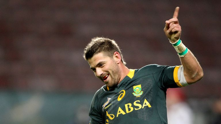 Willie le Roux: Springbok playmaker