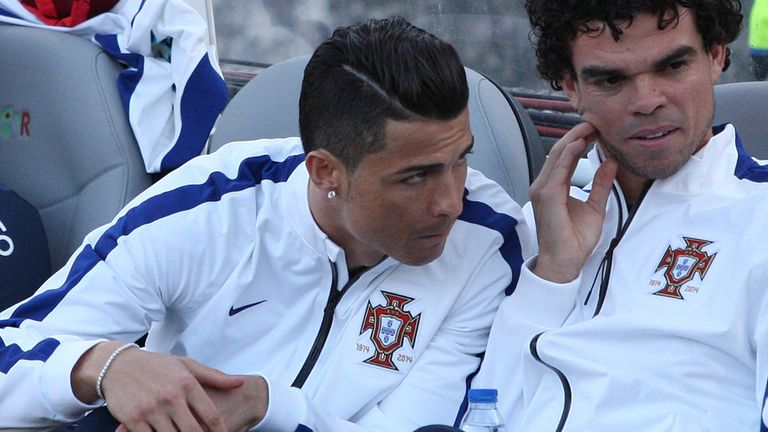 Cristiano Ronaldo: Portugal star remains sidelined by injury
