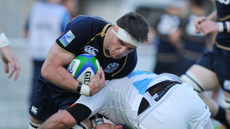 Adam Ashe: To make senior debut for Scotland against the Springboks
