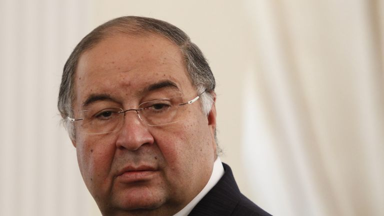 Alisher Usmanov: Confident in Arsenal's future