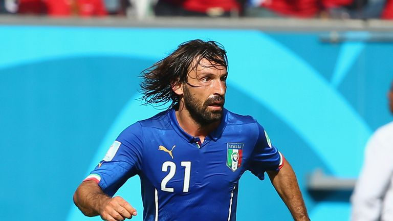 Andrea Pirlo: Juventus midfielder failed to inspire Italy in Brazil