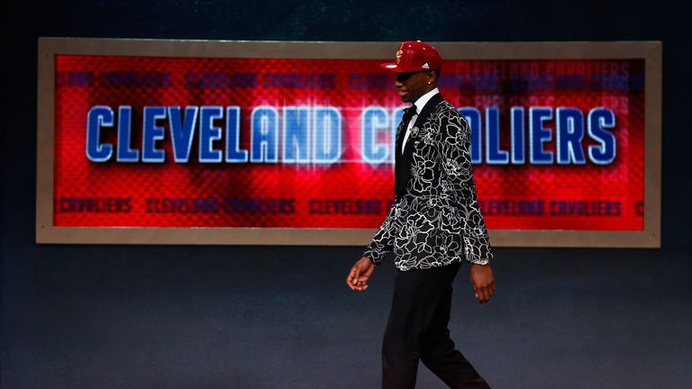 Andrew Wiggins: Was selected first overall in the NBA Draft