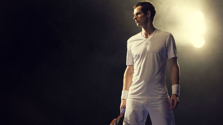 Andy Murray: Ready for the defence of his Wimbledon title