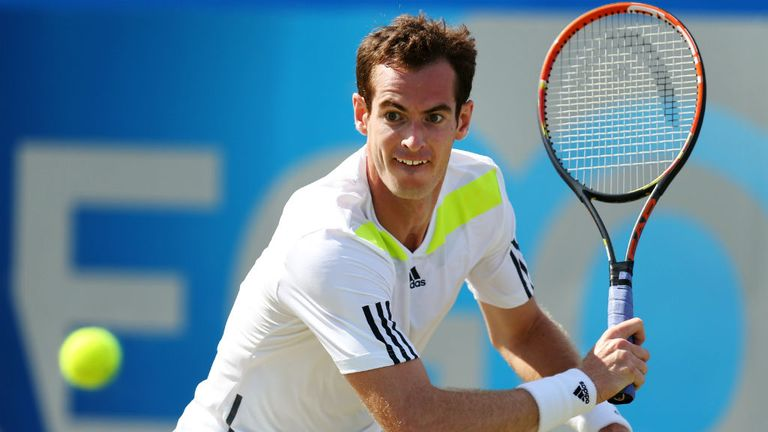 Andy Murray: The Brit will take a few days break before preparing for the defence of his Wimbledon title