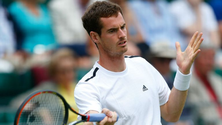 Andy Murray: Beat Spain's Tommy Robredo at the Hurlingham Club