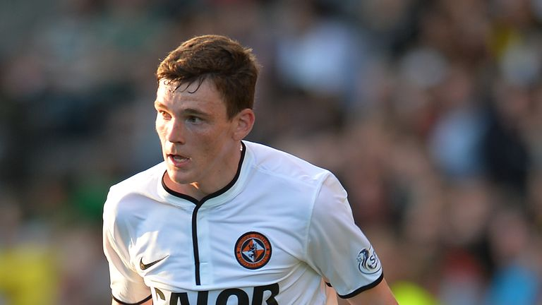 Andrew Robertson: Dundee United player is still considering a move to Hull City.