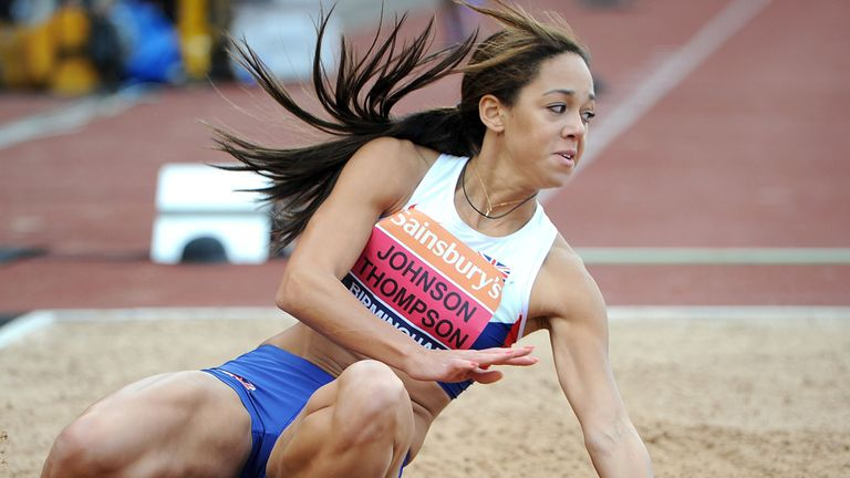 Katarina Johnson-Thompson: Will be absent from Euros