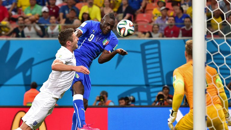 Mario Balotelli: Thrilled to score Italy's winner against England in Manaus