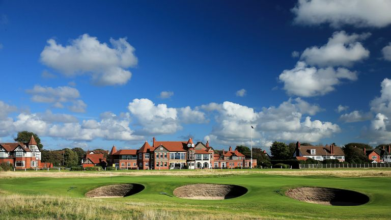 The winner could be decided at Hoylake's 18th on Sunday afternoon
