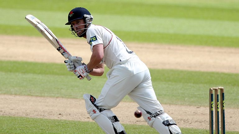Paul Horton: important knock for Lancashire